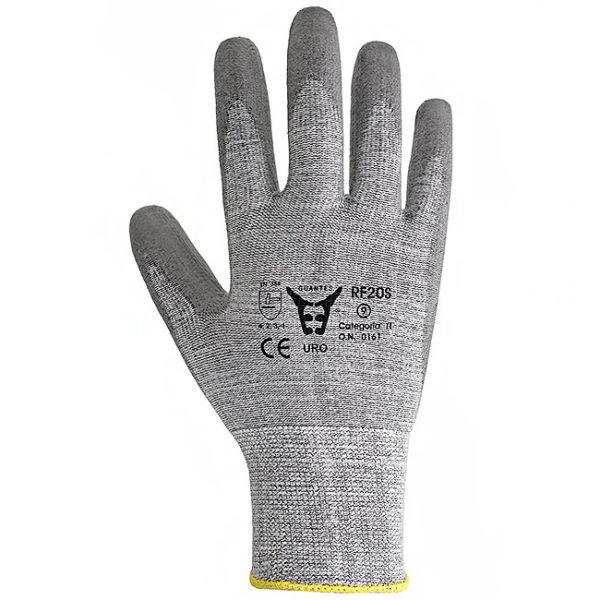 RF20S - rękawice ochronne z włóknem węglowym