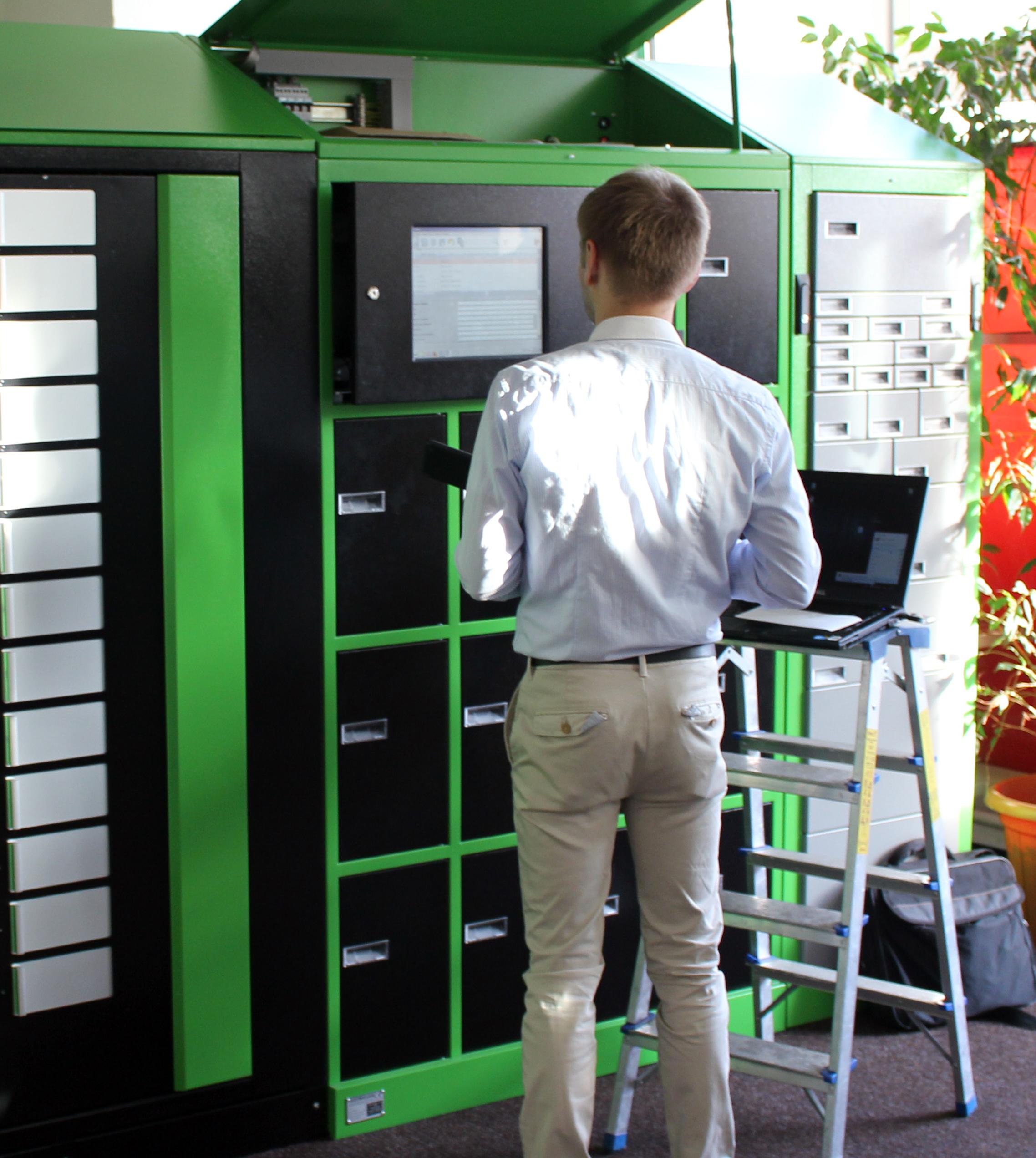automaty wydające