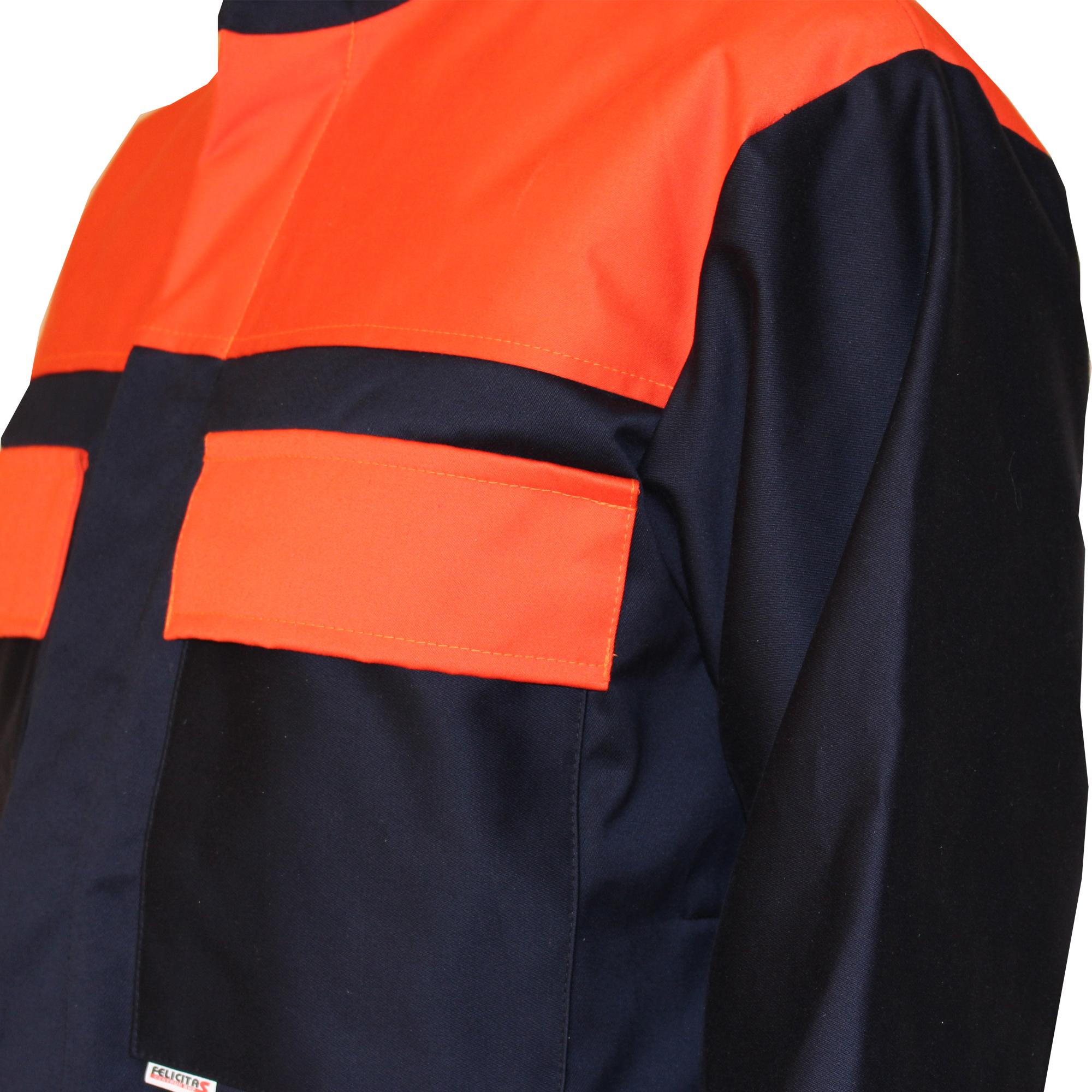 kieszenie w bluzie kryte napą - ubranie xispal 841