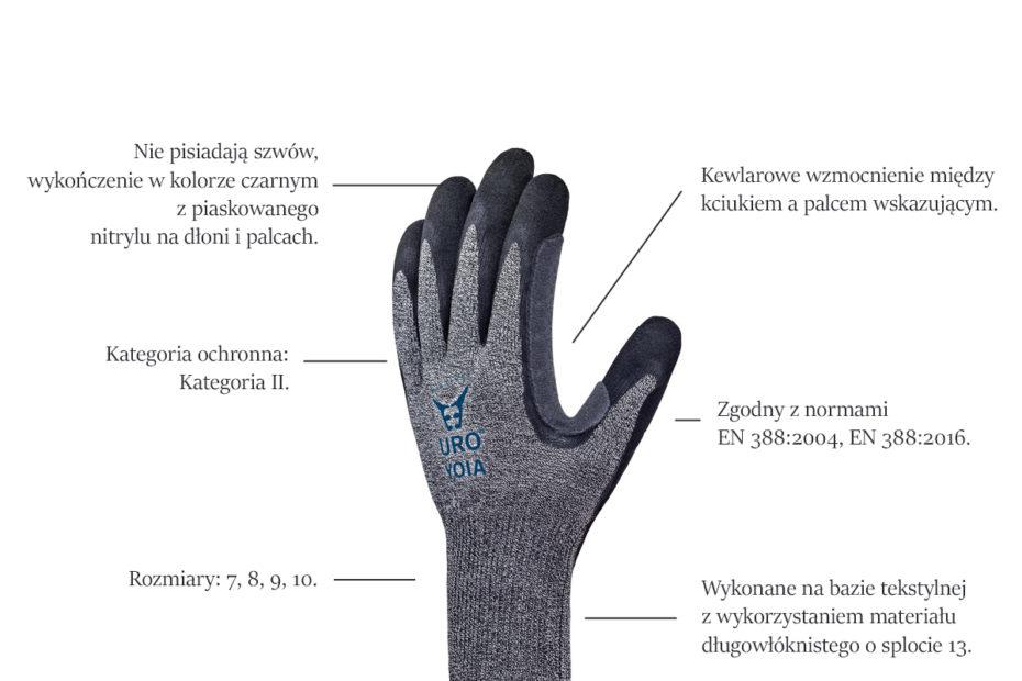 solidne rękawice do pracy