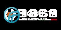 robusta logo białe
