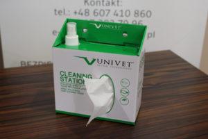 stacja do czyszczenia okularów