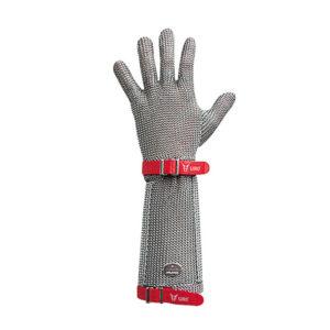 Rękawiczki z siatki ze stali nierdzewnej z mankietem G220