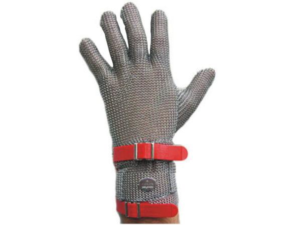 Rękawiczki z siatki ze stali nierdzewnej z mankietem G75