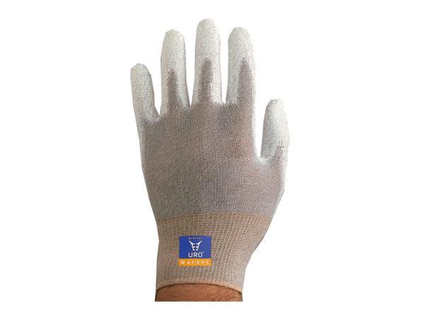 Rękawice poliamidowe z nalaniem poliuretanowym PLOMO
