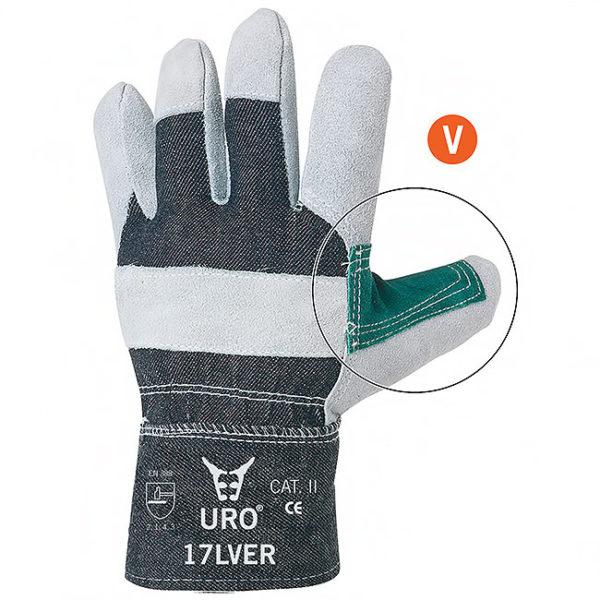 Rękawice ochronne 17LVER